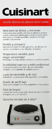 Cuisinart Countertop Single Burner Perspective: left