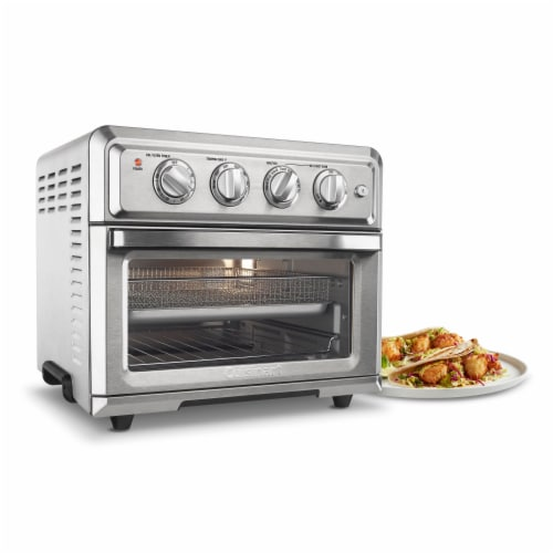 Cuisinart Air Fryer Toaster Oven - Silver Perspective: left