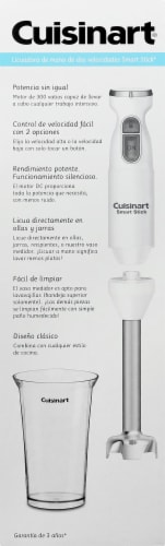 Cuisinart 2-Speed Hand Blender - White Perspective: left