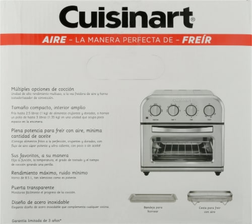 Cuisinart AirFryer Toaster Oven Perspective: left
