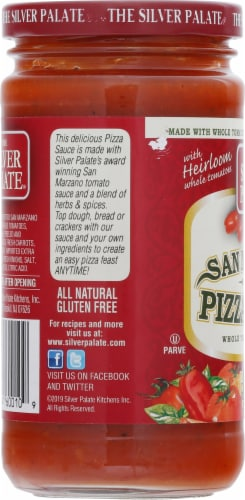 The Silver Palate San Marzano Blend Pizza Sauce Perspective: left