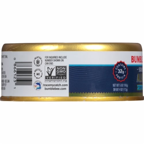 Bumble Bee Prime Fillet Low Sodium Solid White Albacore in Water Perspective: left