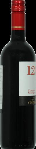 Santa Rita 120 Cabernet Sauvignon Red Wine Perspective: left