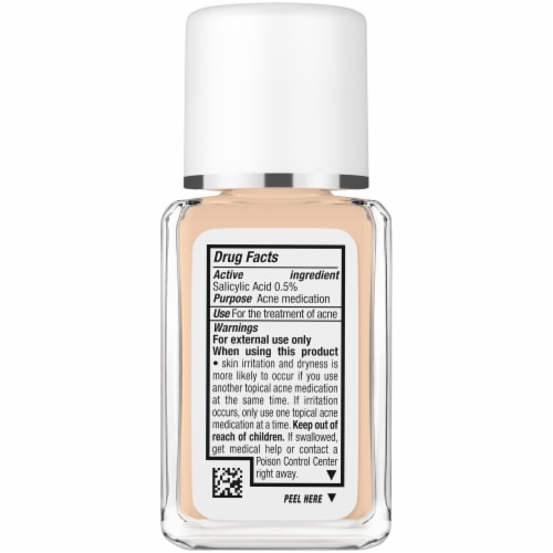 Neutrogena SkinClearing® Fresh Beige Liquid Makeup Perspective: left