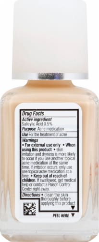 Neutrogena SkinClearing 10 Classic Ivory Oil-Free Makeup Perspective: left