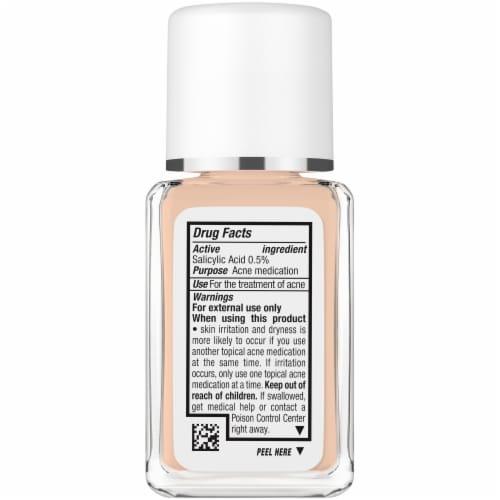 Neutrogena SkinClearing Natural Tan Liquid Makeup Perspective: left