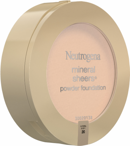 Neutrogena Mineral Sheers 20 Natural Ivory Powder Foundation SPF 20 Perspective: left