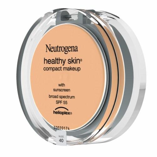 Neutrogena Healthy Skin 40 Nude Compact Makeup Perspective: left