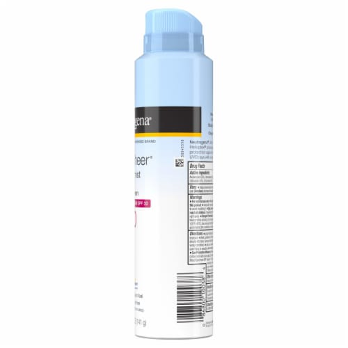 Neutrogena Ultra Sheer Body Mist Suncscreen SPF 30 Perspective: left