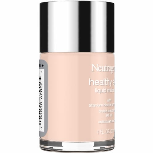 Neutrogena Healthy Skin Natural Ivory 20 Liquid Foundation Perspective: left