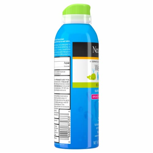 Neutrogena® Wet Skin Kids Beach & Pool Sunscreen Spray SPF 70+ Perspective: left