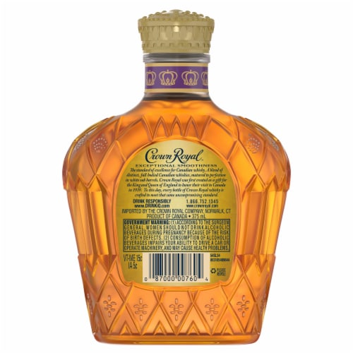 Crown Royal Blended Canadian Whisky Perspective: left