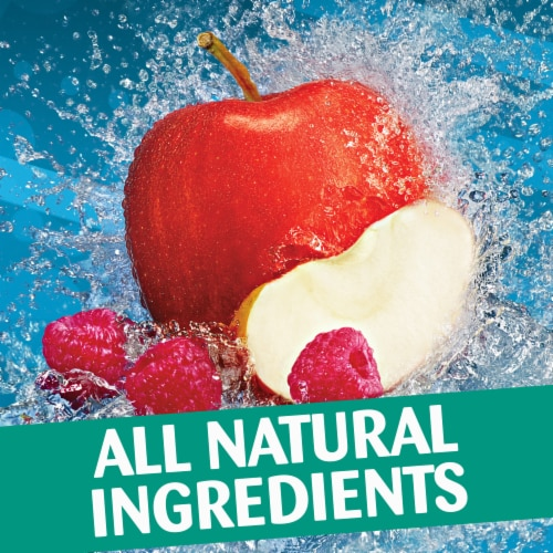 Capri Sun Mountain Cooler Mixed Fruit Flavored Juice Drink Pouches Perspective: left