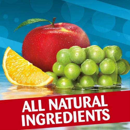 Capri Sun Organic Fruit Punch Juice Drink Blend Pouches Perspective: left
