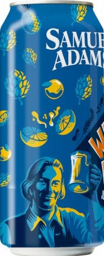 Samuel Adams Wicked Hazy New England IPA Beer Perspective: left