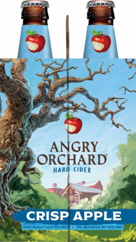 Angry Orchard Crisp Apple Hard Cider Perspective: left