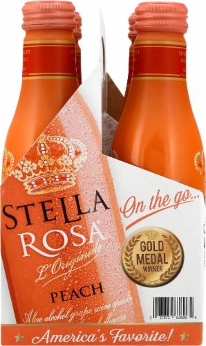 Stella Rosa Peach Wine Perspective: left