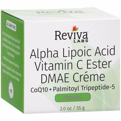 Reviva Labs Alpha Lipoic Acid Vitamin C Ester DMAE Firming Créme Perspective: left