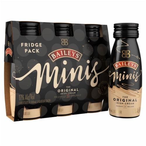 Baileys Minis The Original Irish Cream Liqueur Perspective: left