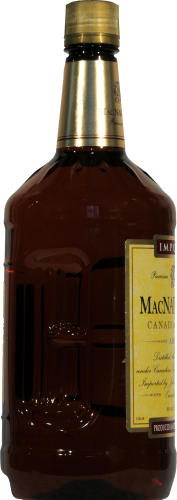 MacNaughton Blended Canadian Whiskey Perspective: left