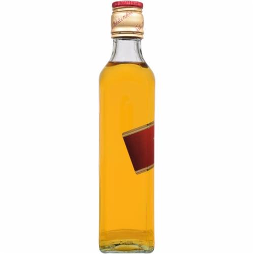 Johnnie Walker Red Label Blended Scotch Whisky Perspective: left