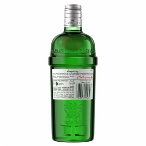 Tanqueray London Dry Gin Perspective: left