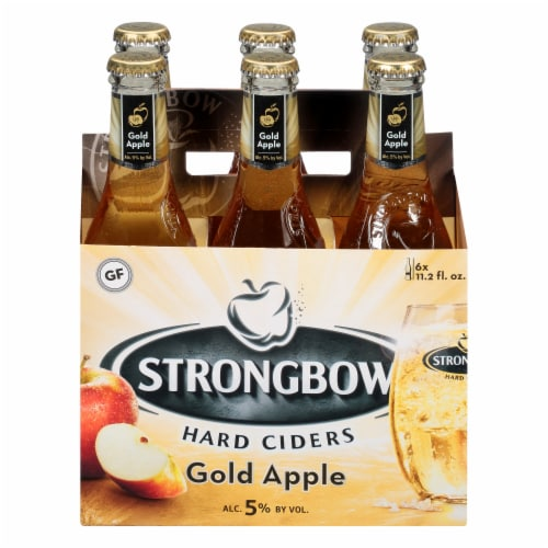 Strongbow Gold Apple Hard Cider Perspective: left
