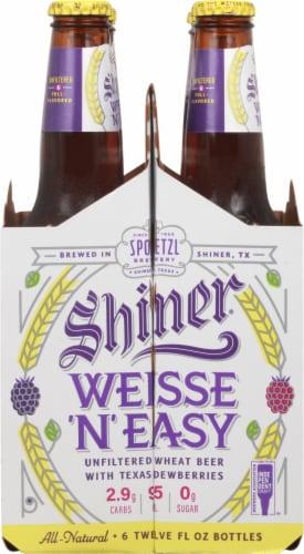 Shiner® Weisse 'N' Easy Wheat Beer Perspective: left