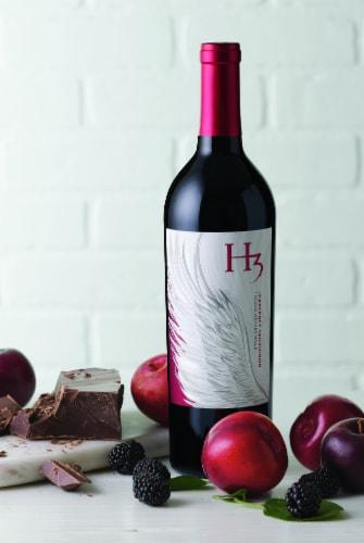 Columbia Crest H3 Cabernet Sauvignon Red Wine Perspective: left