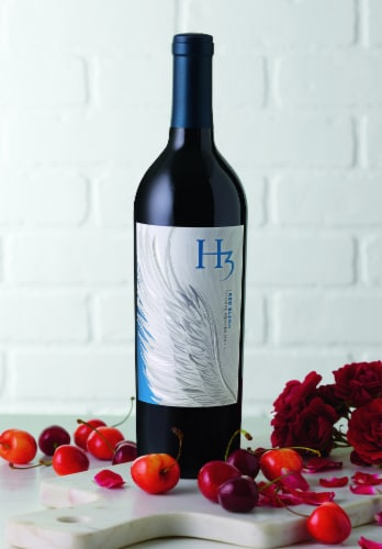 H3 Red Blend Red Wine Perspective: left