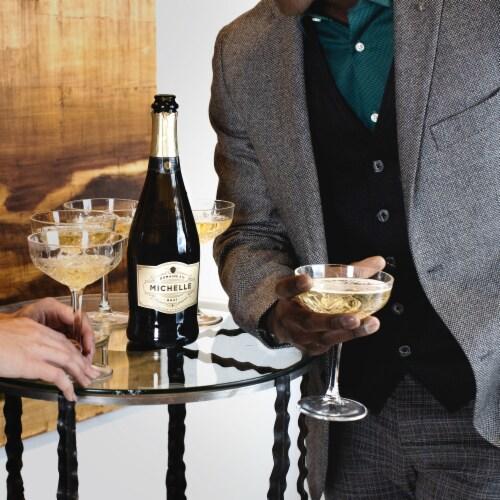Domaine Ste Michelle Brut Sparkling Wine Perspective: left