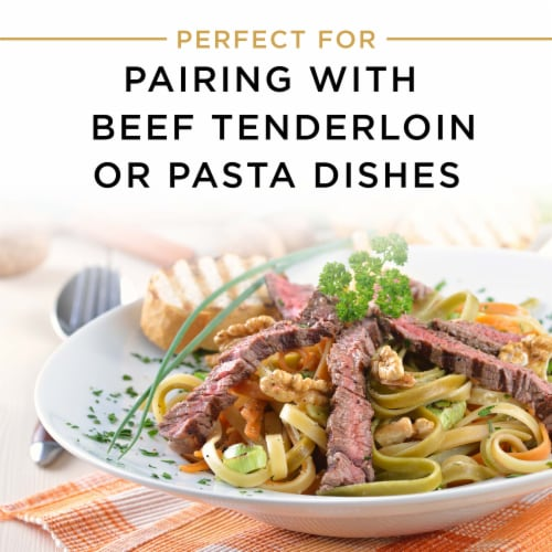 Chateau Ste Michelle Cabernet Sauvignon Red Wine Perspective: left