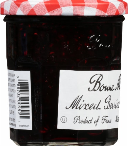 Bonne Maman Wild Mixed Berries Preserves Perspective: left