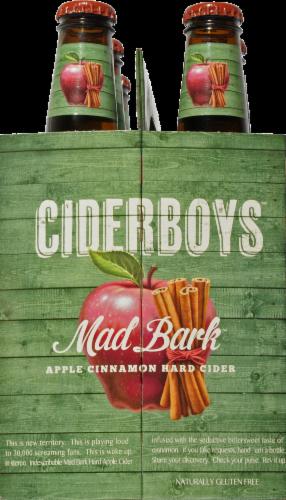 Cider Boys Mad Bark Apple Cinnamon Hard Cider Perspective: left