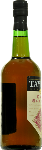 Taylor Dry Sherry Perspective: left