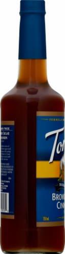 Torani Brown Sugar Free Sugar Cinnamon Syrup Perspective: left
