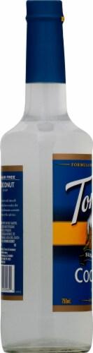 Torani Sugar Free Coconut Syrup Perspective: left
