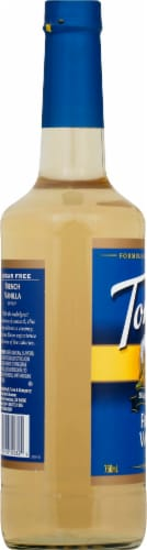 Torani Sugar Free French Vanilla Perspective: left