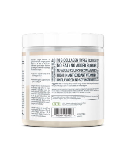 ISOPURE Unflavored Collagen Perspective: left