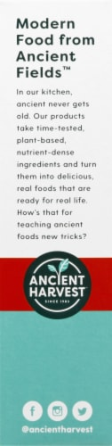 Ancient Harvest Gluten Free Red Lentil Rotini Plant-Based Protein Pasta Perspective: left