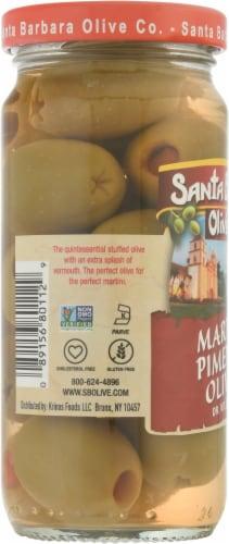 Santa Barbara Olive Co. Pimento Martini Olives Perspective: left