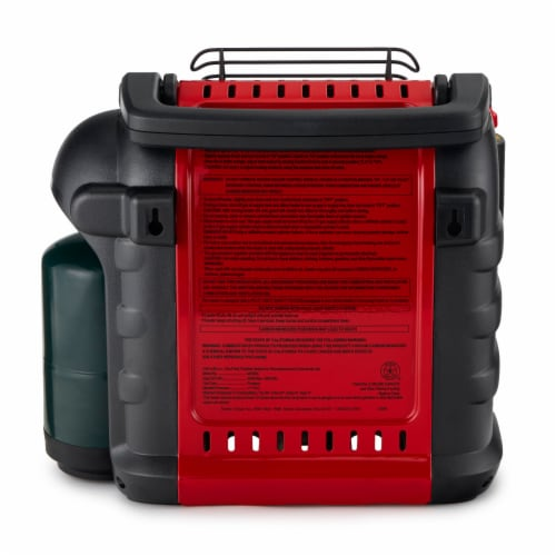 Mr. Heater Buddy Portable Propane Heater - Red/Black Perspective: left