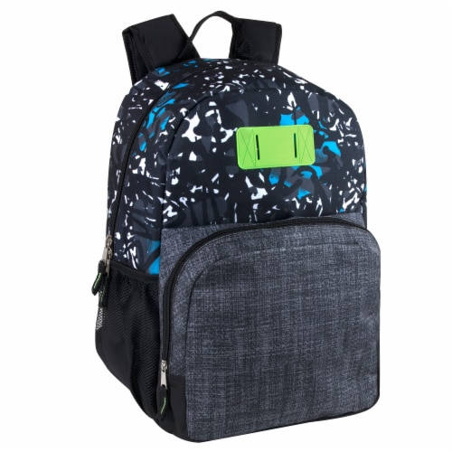 A.D. Sutton Heather Bungee Backpack Perspective: left