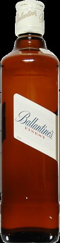Ballantine's Finest Blended Scotch Whisky Perspective: left