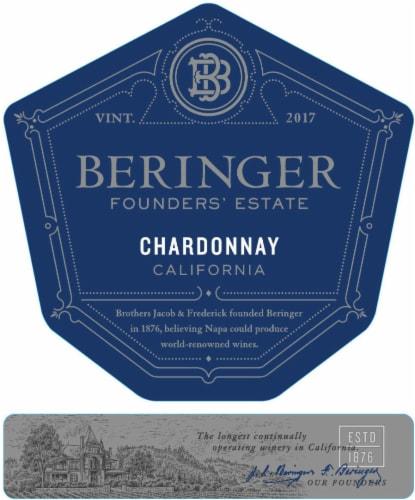 Beringer Founders' Estate Chardonnay White Wine Perspective: left