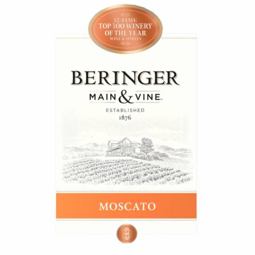 Beringer Main & Vine Moscato Wine Perspective: left