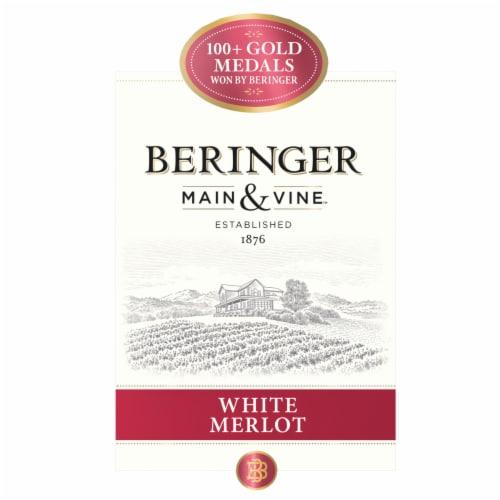 Beringer Main & Vine White Merlot Pink Wine Perspective: left
