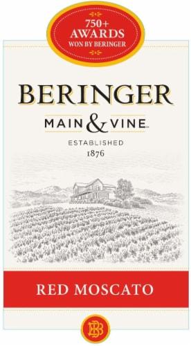 Beringer Main & Vine Red Moscato White Wine Perspective: left