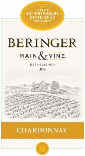 Beringer Main & Vine Chardonnay White Wine Perspective: left