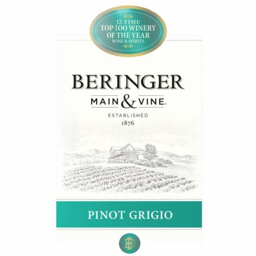 Beringer Pinot Grigio Perspective: left